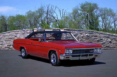 Photograph - 1966 Chevrolet Impala by Tim McCullough