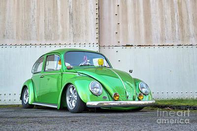 Photograph - 1966 Custom Green Beetle by Tim Gainey