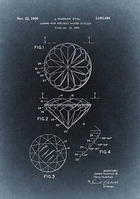 1966 Diamond Illustration Art Print by Dan Sproul