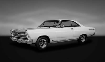 Photograph - 1966 Ford Fairlane 500xl  -  66fdfair44 by Frank J Benz