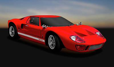 Photograph - 1966 Ford Gt40   -   1966gt40ford170451 by Frank J Benz