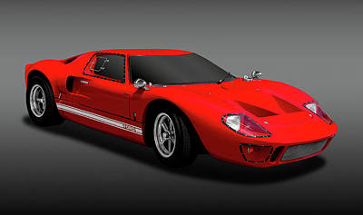 Photograph - 1966 Ford Gt40  -   1966gt40fordfa170451 by Frank J Benz