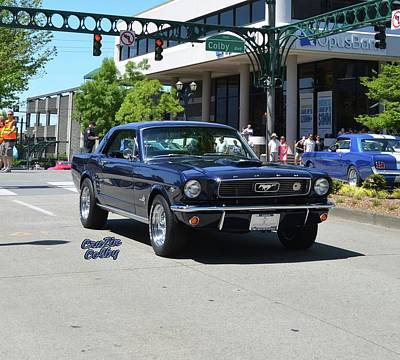 Spagnola Photograph - 1966 Ford Mustang Spagnola by Mobile Event Photo Car Show Photography
