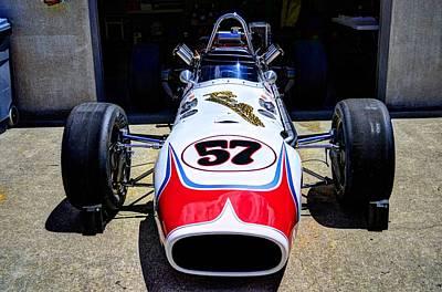 1966 Gearhardt Rear Engine V8 Art Print by Josh Williams