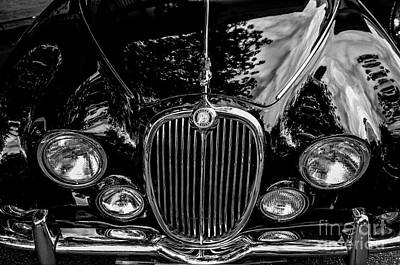 Photograph - 1966 Jaguar by M G Whittingham