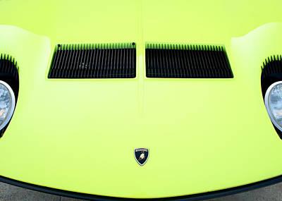 Photograph - 1966 Lamborghini Miura by Rospotte Photography