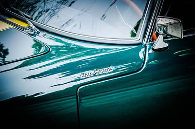 Photograph - 1966 Lotus Elan S3 Fhc Coupe Side Emblem -1227c by Jill Reger