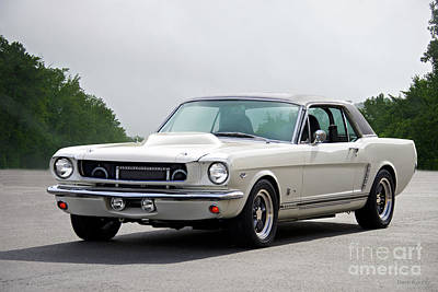 Photograph - 1966 Mustang '427 High-performance Coupe I by Dave Koontz