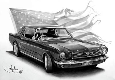muscle car drawings | fine art america