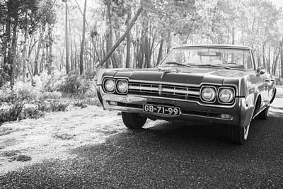 Photograph - 1966 Oldsmobile F-85 Convertible by Marco Oliveira