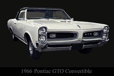 1966 Pontiac Gto Convertible Art Print