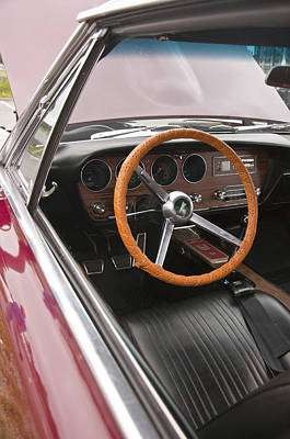 Photograph - 1966 Pontiac Gto Dash by Glenn Gordon