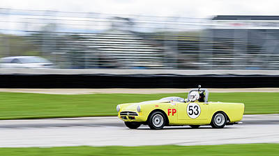 Photograph - 1966 Sunbeam Alpine by Randy Scherkenbach