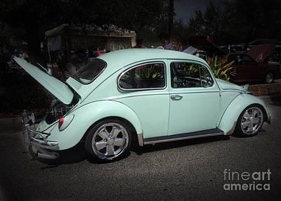 Photograph - 1966 Volkswagen by Anne Sands