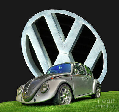 Photograph - 1966 Volkswagen Bug by Tony Baca