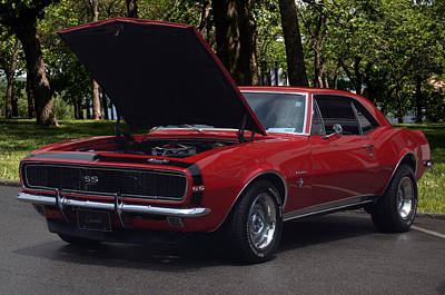 Photograph - 1968 Camaro by Tim McCullough