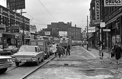 Photograph - 1967 Centre Street Jamaica Plain Boston by Historic Image