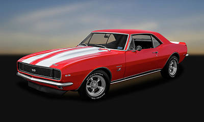 Photograph - 1967 Chevrolet Camaro Ss/rs 396   -   1967chevroletcamaro142483 by Frank J Benz