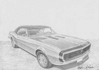 Camaro Drawings Fine Art America