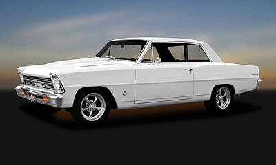 Photograph - 1967 Chevrolet Chevy II 100  -  1967chevy2383stroker173648 by Frank J Benz