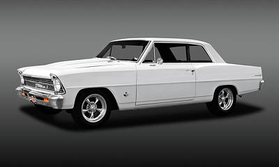 Photograph - 1967 Chevrolet Chevy II 100  -  1967chevy2fa173648 by Frank J Benz