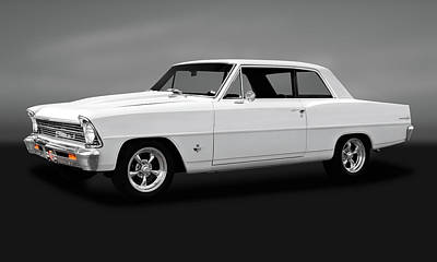 Photograph - 1967 Chevrolet Chevy II 100  -  1967chevy383strokergry173648 by Frank J Benz