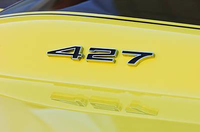 Photograph - 1967 Chevrolet Corvette Sport Coupe Emblem by Jill Reger