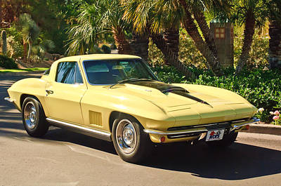 Photograph - 1967 Chevrolet Corvette Sport Coupe by Jill Reger