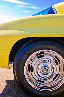 Photograph - 1967 Chevrolet Corvette Sport Coupe Rear Wheel by Jill Reger