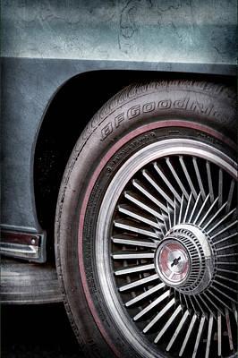 1967 Chevrolet Corvette Wheel Emblem -0351ac Art Print by Jill Reger