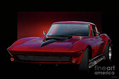 Photograph - 1967 Corvette Stingray I by Dave Koontz