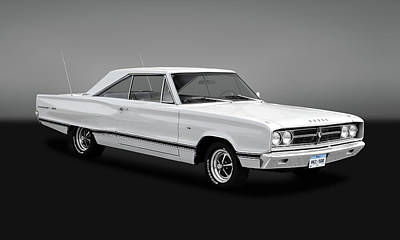 Photograph - 1967 Dodge Coronet 500   -   1967dodgecorogry170331 by Frank J Benz