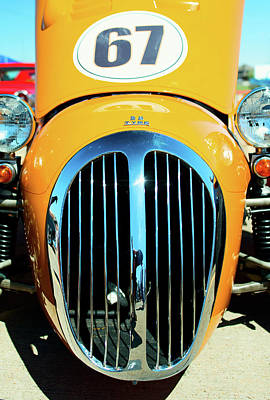 Photograph - 1967 Jaguar Kougar by Rospotte Photography