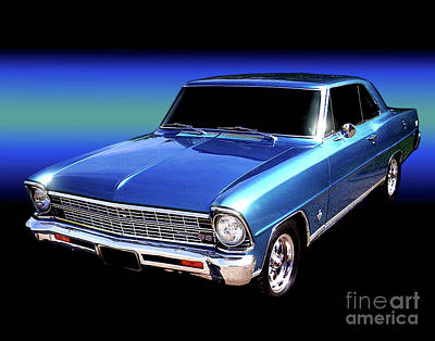 Photograph - 1967 Nova Ss by Peter Piatt