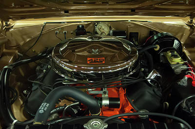 Photograph - 1967 Plymouth Belvedere Gtx 426 Hemi Motor by Chris Flees