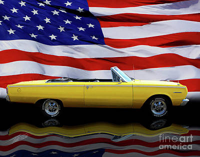 Photograph - 1967 Plymouth Belvedere Tribute by Peter Piatt