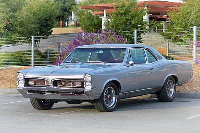 Photograph - 1967 Pontiac Gto by Bill Dutting