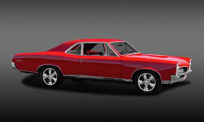 Photograph - 1967 Pontiac Gto Sport Coupe  -  1967pontgtofa0024 by Frank J Benz