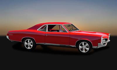 Photograph - 1967 Pontiac Gto Sport Coupe  -  1967pontiacgto00224 by Frank J Benz
