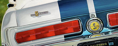 Painting - 1967 Shelby Gt500 by Branden Hochstetler