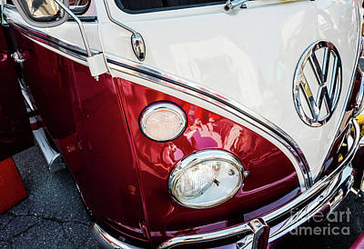 Photograph - 1967 Volkswagen Bus by M G Whittingham