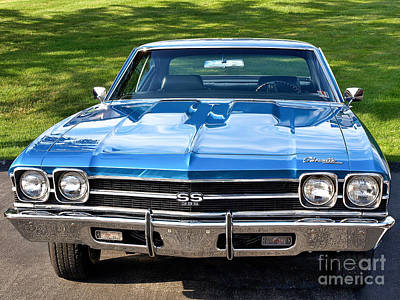 Photograph - 1968 Chevelle by John Waclo