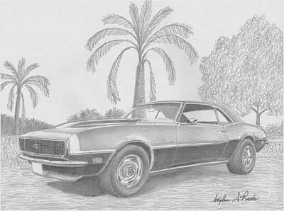 Camaro Drawings Page Of Fine Art America