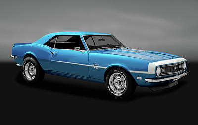 Photograph - 1968 Chevrolet Camaro Super Sport 350   -  1968chevycamarossgry170414 by Frank J Benz