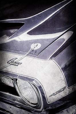 1968 Camaro Photograph - 1968 Chevrolet Yenko Super Camaro Emblem -0653ac by Jill Reger