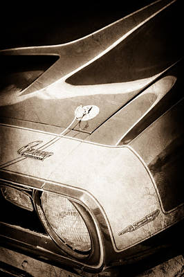 1968 Camaro Photograph - 1968 Chevrolet Yenko Super Camaro Emblem -0653s by Jill Reger