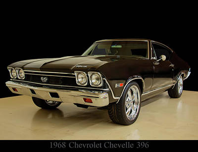 Photograph - 1968 Chevy Chevelle Ss 396 by Chris Flees
