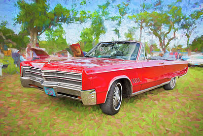 Photograph - 1968 Chrysler 300 Convertible Newport New Yorker by Rich Franco