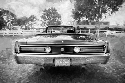 Photograph - 1968 Chrysler 300 Convertible by Rich Franco