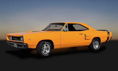 Photograph - 1968 Dodge Super Bee 2 Door Coupe  -  1968dodgesuperbee173415 by Frank J Benz